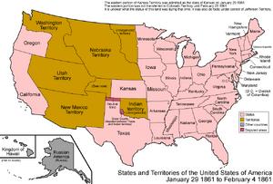 United States 1861-01-1861-02-04