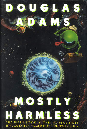 Mostly Harmless Book Cover