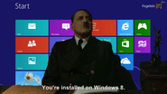 Hitler Windows 8