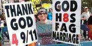 Westboro Protester