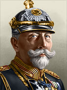 Portrait germany wilhelm ii