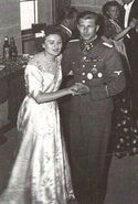 Gretl and Fegelein wedding