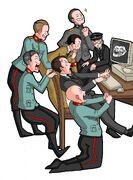 Fegelein Trolls the Bunker