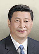 Portrait China Xi Jinping