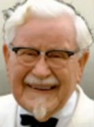 Portrait Colonel Sanders
