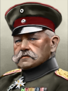 Portrait Germany Mod Hindenburg
