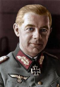 Feldmarschall Walther Wenck recolored