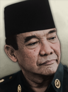Portrait indonesia sukarno