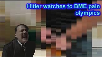 Hitler watches to BME pain olympics