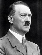 Adolf Hitler portrait side