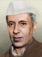 Portrait India Jawarlahal Nehru