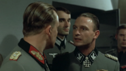 Burgdorf has a staring contest with Fegelein