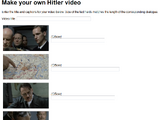 Jacek Fedorynski's Hitler video maker