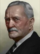 Portrait John Pershing Civil