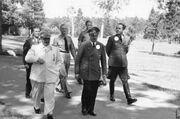 Goering Hitler Gunsche Speer..
