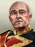 Portrait Spain Francisco Franco