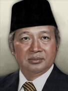 Portrait indonesia suharto