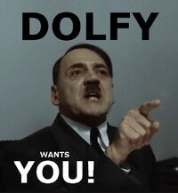 Dolfy Wants You