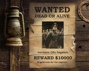 Fegelein Wanted Poster