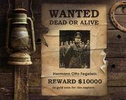 Fegelein Wanted Poster