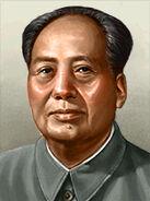 Portrait China Mao Zedong