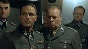 Fegelein watches the four officers leave
