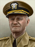 Portrait USA Chester W Nimitz