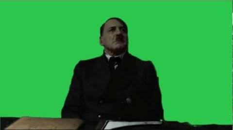 Hitler is informed Scene - Greenscreened (Downfall 2004)