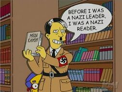 TheSimpsonsHitler