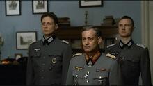 Krebs' delegation enters Chuikov's room
