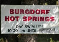 Burgy hot springs