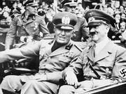 Mussolini-hitler