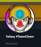 Toilet clown