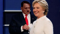 Hitler and Clinton 3rd Debate