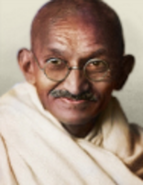 Portrait india gandhi