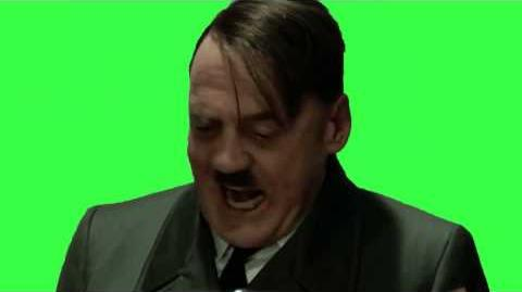 Hitler Dinner Scene - Greenscreened (Downfall 2004)