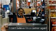 Hitler is a cashier again