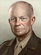 Portrait USA Dwight D Eisenhower