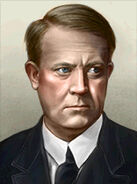 Portrait Norway Vidkun Quisling