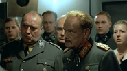 Keitel glaring at Fegelein