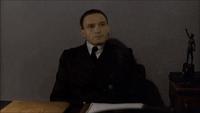 Fegelein in Hitler's seat