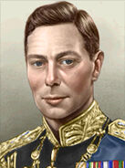 Portrait Britain George VI