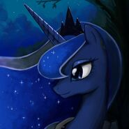 Luna At Night Icon