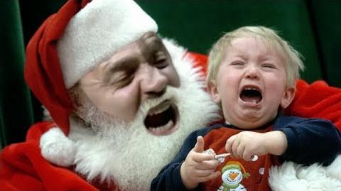 Hitler is a Mall Santa