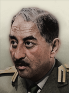 Portrait Iraq Ahmed Hassan al-Bakr