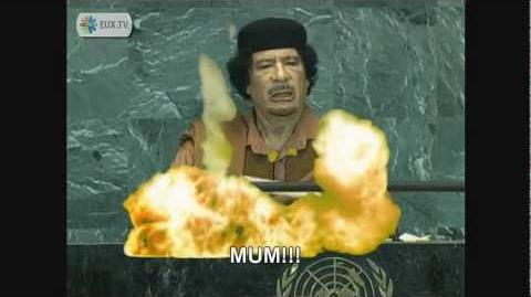 Gaddafi's Papers of Mass Destruction vs General Veers' Maximum Firepower of Obliteration