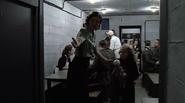 Goebbels children enter the bunker