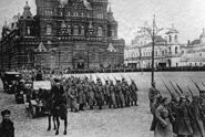 Bolsheviks in Red Square