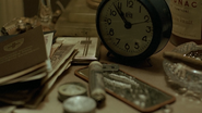 Fegelein table cocaine clock