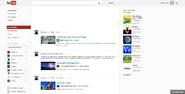 Les Horribles Layouts YouTube homepage November 2012